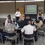 Holms and Friends information session with SA National Defence Force at Sunplace Lodge Training Hall, Hartbeespoort