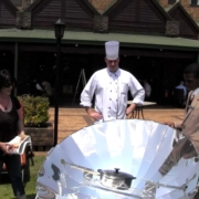 Centurion Lake Hotel chefs cooking with solar